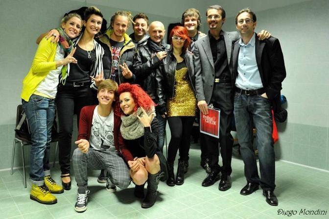 Tutti i finalisti (Foto SIMONE SEGHEZZI E DIEGO MONDINI)