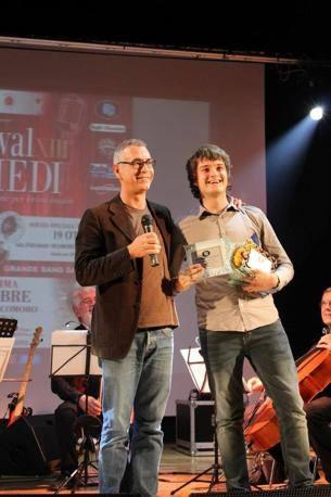 La premiazione di No Face (Foto SIMONE SEGHEZZI E DIEGO MONDINI)