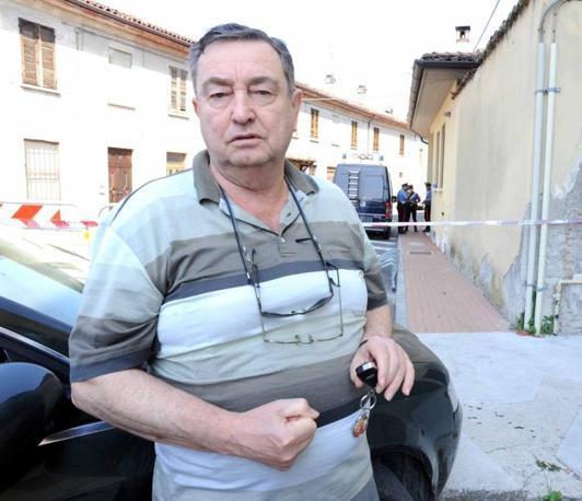Giacomo Conzadori, il proprietario dello stabile che ha scoperto il cadavere (foto Cavicchi)