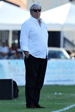 Gigi Maifredi: da dimenticare il suo esordio sulla panchina del Brescia, sconfitta per 2 a 0 a Latina (Lapresse)