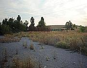 L'area di Buffalora dove dovrebbe sorgere l'impianto (Fotogramma)