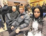 Paolo Scaroni attende la lettura della sentenza (Cavicchi)