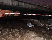 Il cadavere ripescato dal fiume (Fotogramma/Bs)