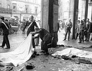 Immagine simbolo della strage di Piazza Loggia