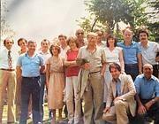 Foto d'epoca dei dipendenti