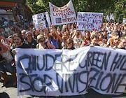 Manifestazione contro Green Hill (Fotogramma)
