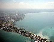 La penisola di Sirmione (Fotogramma)