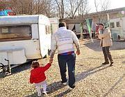 Il campo nomadi di Brescia (Cavicchi)