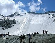 Il ghiacciaio del Presena