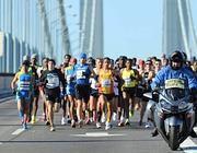 La maratona del  2011 (Foto Epa)