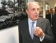 Il patron dell'Ilva, Emilio Riva (Imagoeconomica)