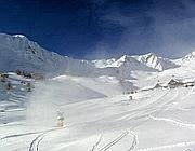 La pista in Valbiolo il 30 novembre