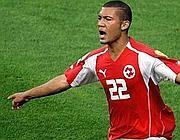 Vonlanthen con la maglia della nazionale svizzera