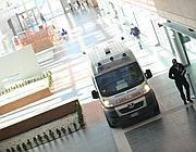 L'ospedale di Bergamo dove è stato ricoverato l'uomo (Fotogramma)