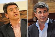 Da sinistra: Emilio Del Bono e Adriano Paroli