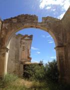 La chiesa del Carmine a Montegiordano, che l'artista aveva smontato