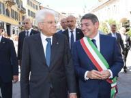 «Caro presidente, benvenuto a Brescia, esempio dell'Italia che funziona»