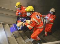 Bomba nel metrò, la maxi esercitazione riuscita