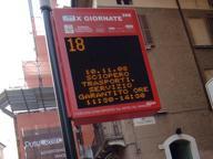 Bus urbani, mai più attese inutili: gli orari d'arrivo in tempo reale