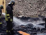 Palazzolo: la Festa di Mura in fiamme, possibile un incendio doloso