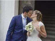 Fiori d'arancio in casa Cassarà: il fiorettista bresciano sposa la sua Sissi