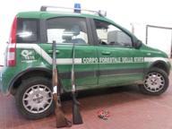 Con i fucili nella Riserva Naturale: deferiti due cacciatori bresciani