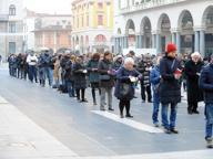 Sentinelle in Piedi di nuovo in piazza: «Vogliono toglierci la libertà di pensiero»