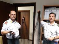 Lago d'Iseo: la Finanza sequestra 700 reti per la caccia nel roccolo