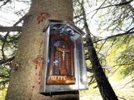 Case di Viso, un crocefisso in ricordo di Beppe Ghirardini