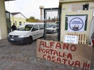 Alla Serini di Montichiari tra lavori e barricate: «Basta clandestini, difendiamo i confini»
